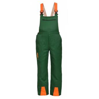 HECHT 900120 - Profesionálne ochranné nohavice pre prácu s motorovou pílou